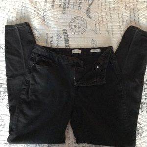 Jessica Simpson | High Rise Skinny Jeans | BLK 8